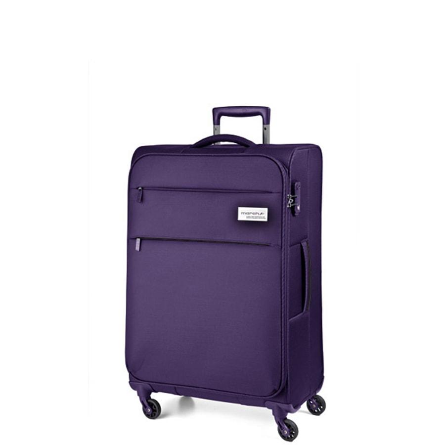 March Kabinový cestovní kufr Polo 39,0l - fialová