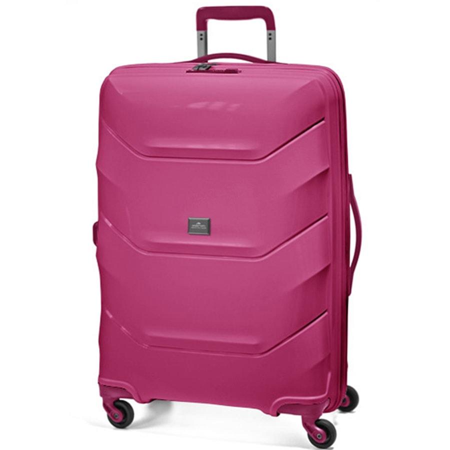 March Velký cestovní kufr Vienna 113 l - růžová