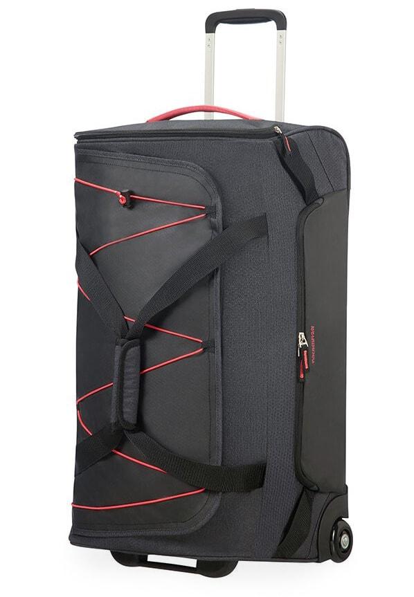 American Tourister Cestovní taška Road Quest 16G 75 l - tmavě šedá/růžová