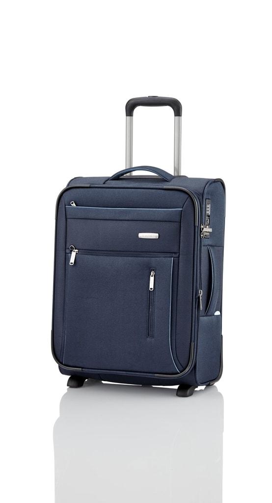 Travelite Kabinový cestovní kufr Capri 2w S Navy 41/50 l