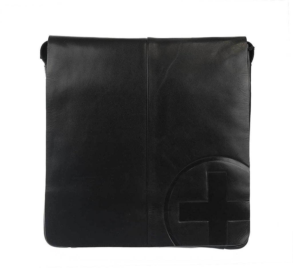 Strellson Pánská kožená taška Jones 4010001961, černá