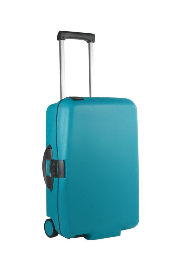 Samsonite Kabinový kufr Cabin Collection Upright 55 V85-001 - tyrkysová