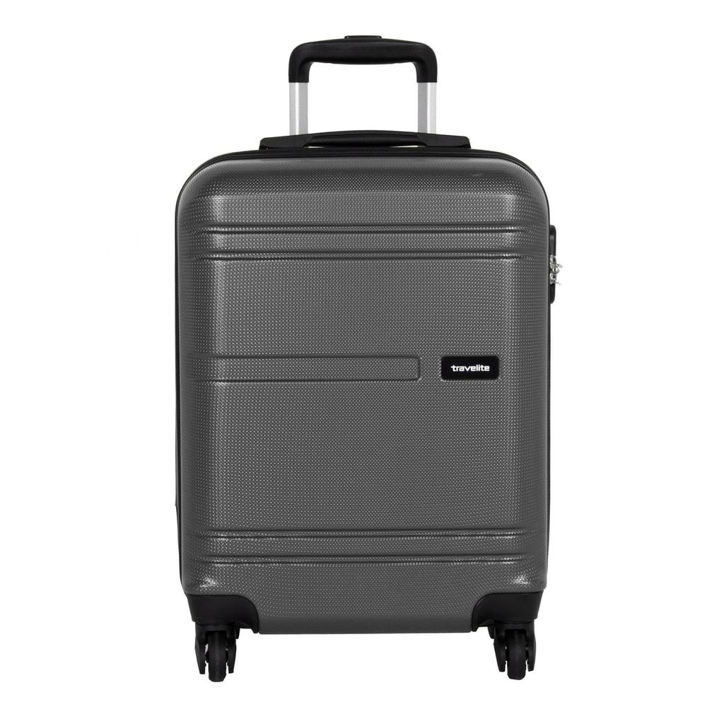 Travelite Kabinový cestovní kufr Yamba 4w S Anthracite 38 l