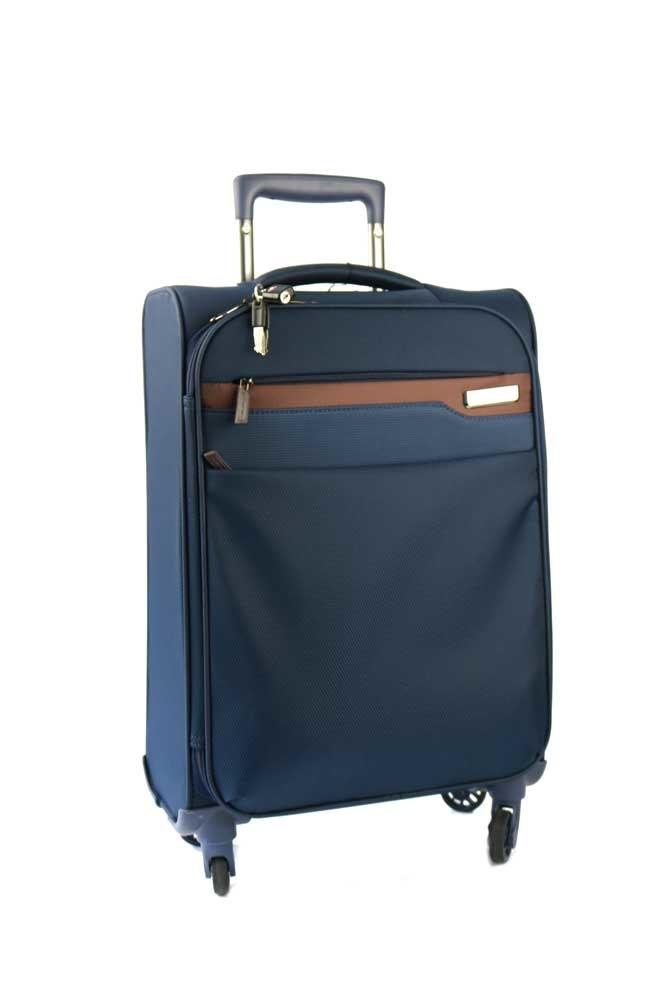 March Střední cestovní kufr Lite 79 l - modrá