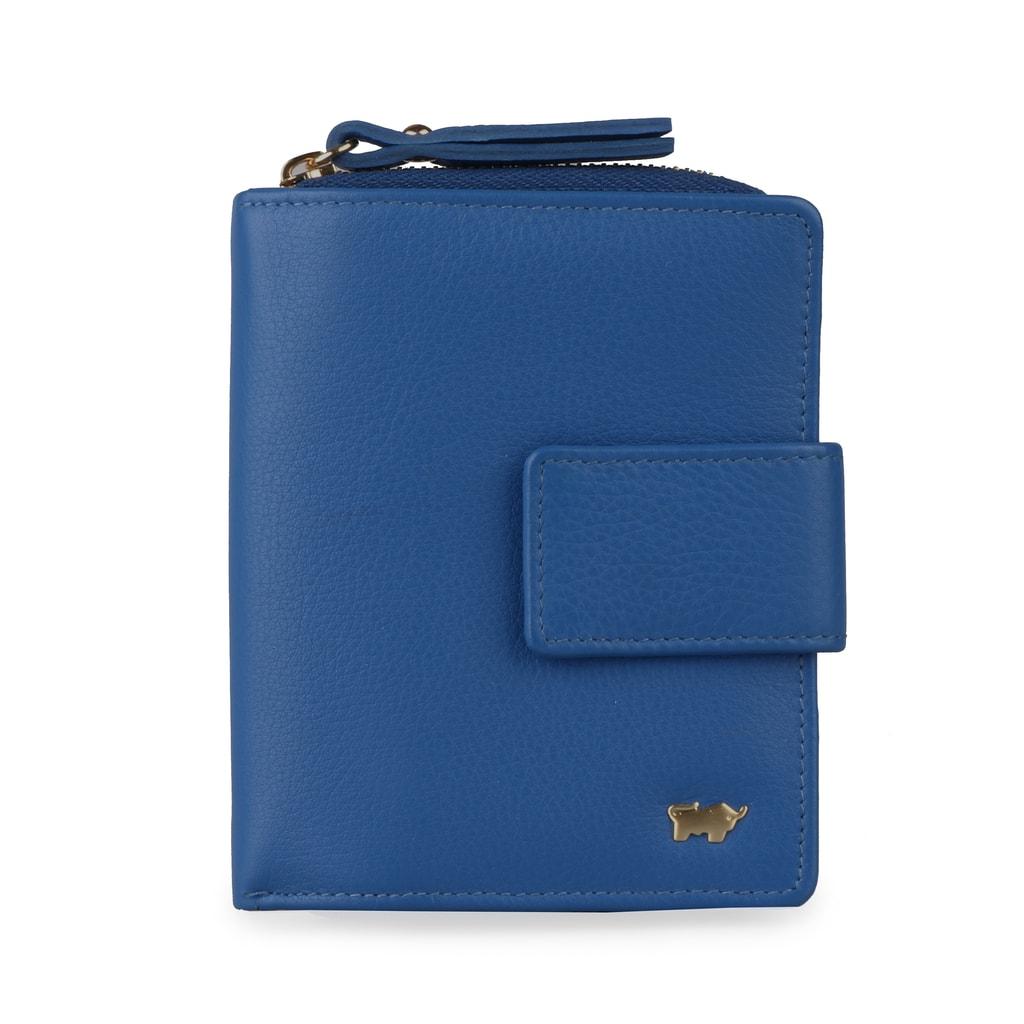 Braun Büffel Dámská kožená peněženka miami 43152-641-040 - modrá