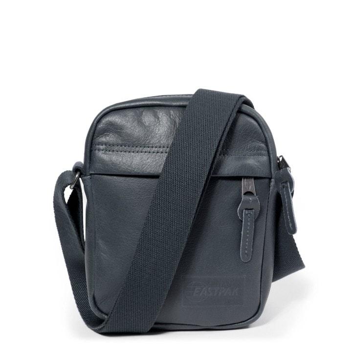 EASTPAK Kožená taška přes rameno The One Steel Leather EK04524U