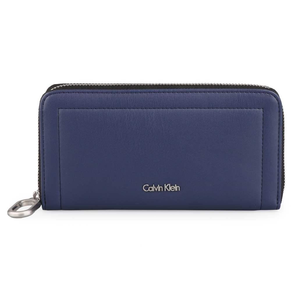 Calvin Klein Dámská peněženka Rev Large Ziparound K60K604020 - tmavě modrá
