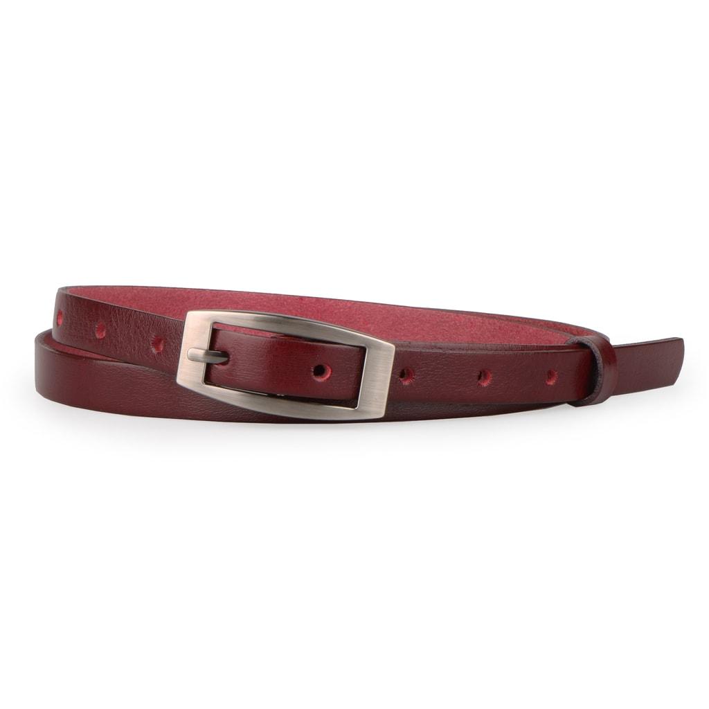 Penny Belts Dámský úzký kožený opasek 152