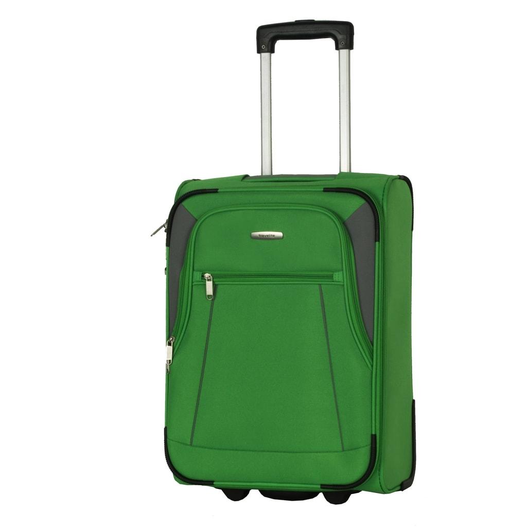 Travelite Kabinový cestovní kufr Portofino 36 l P38393 zelená