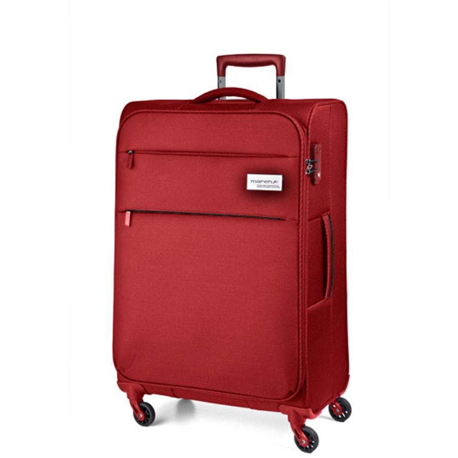 March Střední cestovní kufr Polo 79,0l - červená