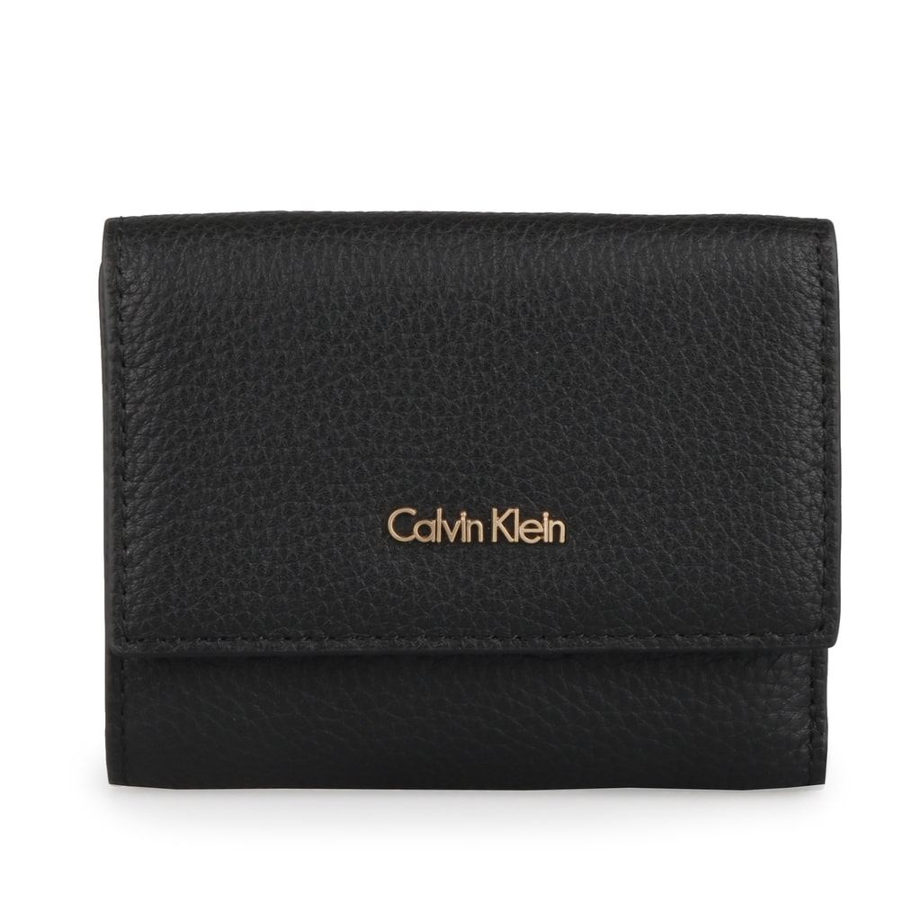 Calvin Klein Dámská kožená peněženka Cosmopolitan Medium K60K603912 - černá