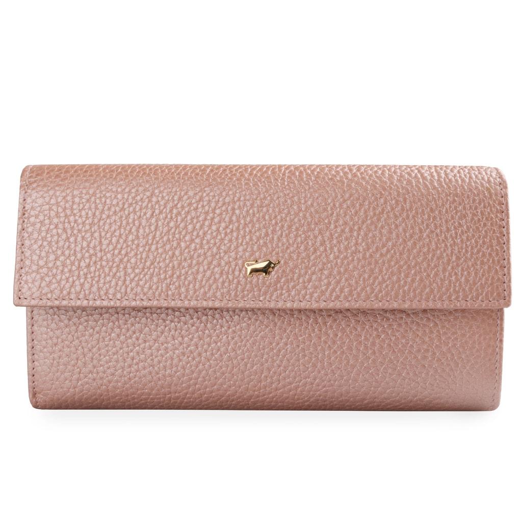 2c8fed9d852 Braun Büffel Dámská kožená peněženka Ascoli 11458 - růžová