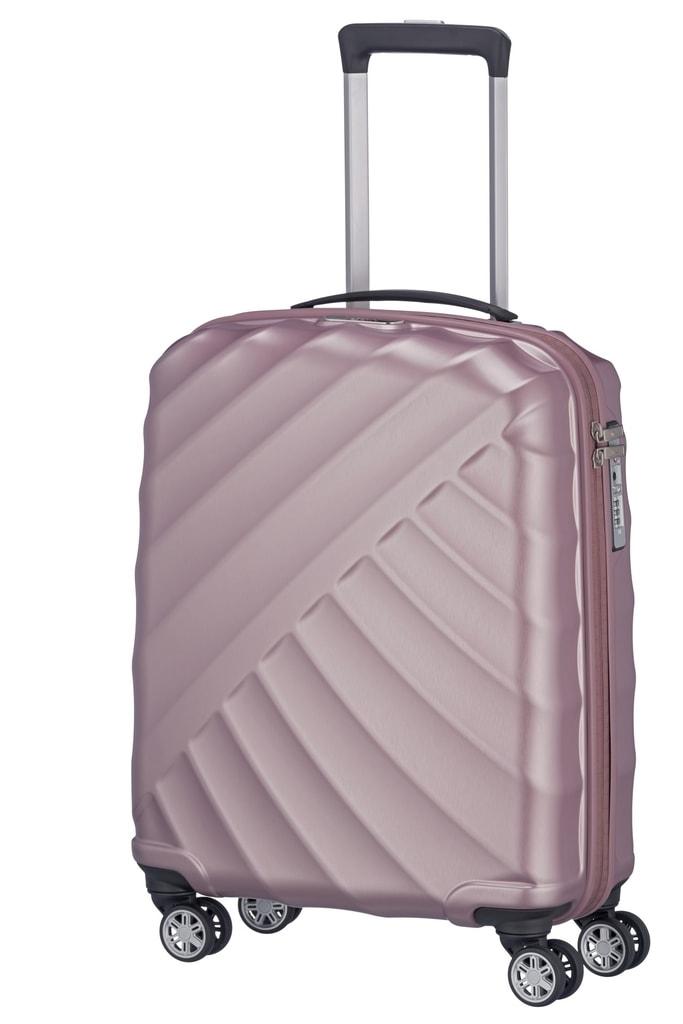 Titan Kabinový cestovní kufr Shooting Star 40 l P38343 růžová