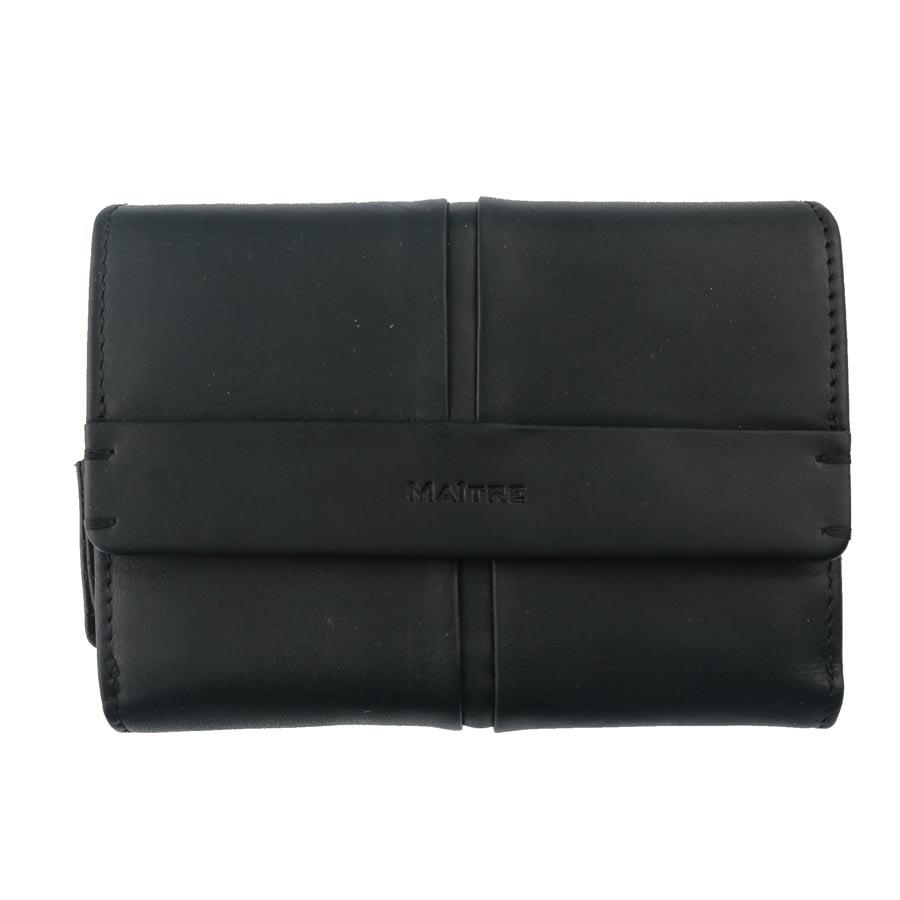 Maitre Dámská kožená peněženka 1372 - černá