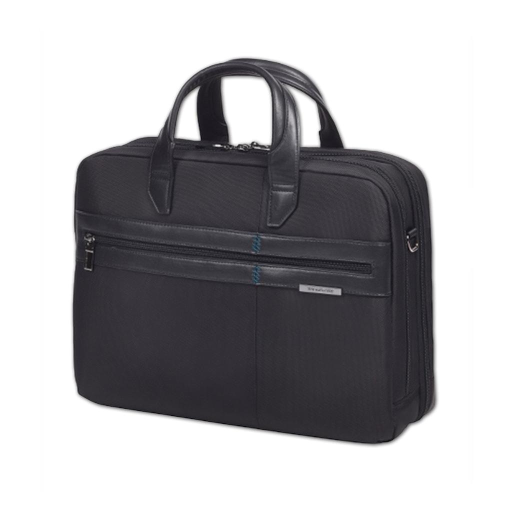 """Samsonite Pánská taška na notebook 15,6"""" Formalite 62N-005 - černá 62N-005-09"""