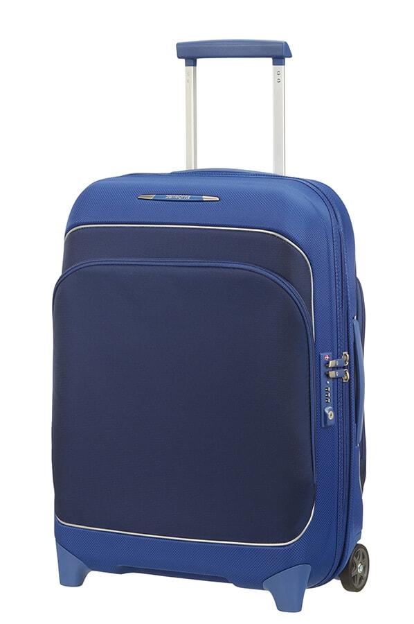 Samsonite Kabinový cestovní kufr Fuze 35/42,5 l - modrá