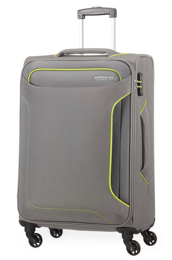 American Tourister Cestovní kufr Holiday Heat Spinner 50G 66 l - šedá