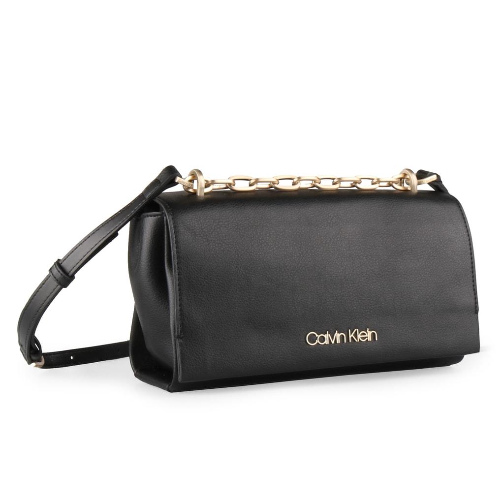 Calvin Klein Dámská kabelka přes rameno Frame K60K604593 - černá