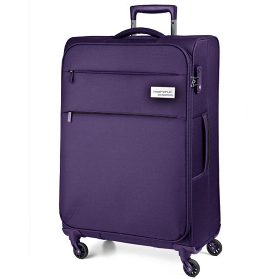 March Velký cestovní kufr Polo 108 l - fialová