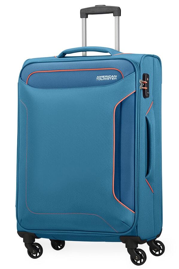 American Tourister Cestovní kufr Holiday Heat Spinner 50G 66 l - světle modrá