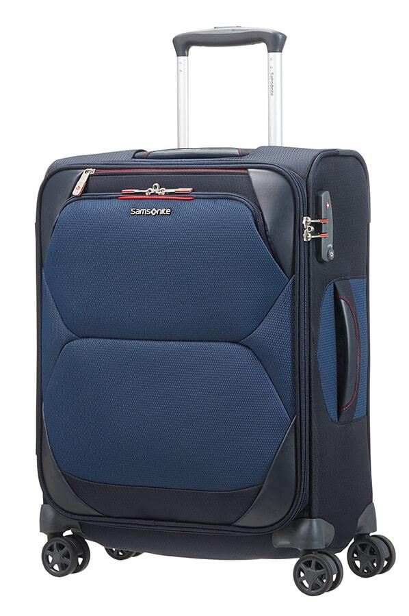 Samsonite Kabinový cestovní kufr Dynamore Spinner 36,5 l - modrá
