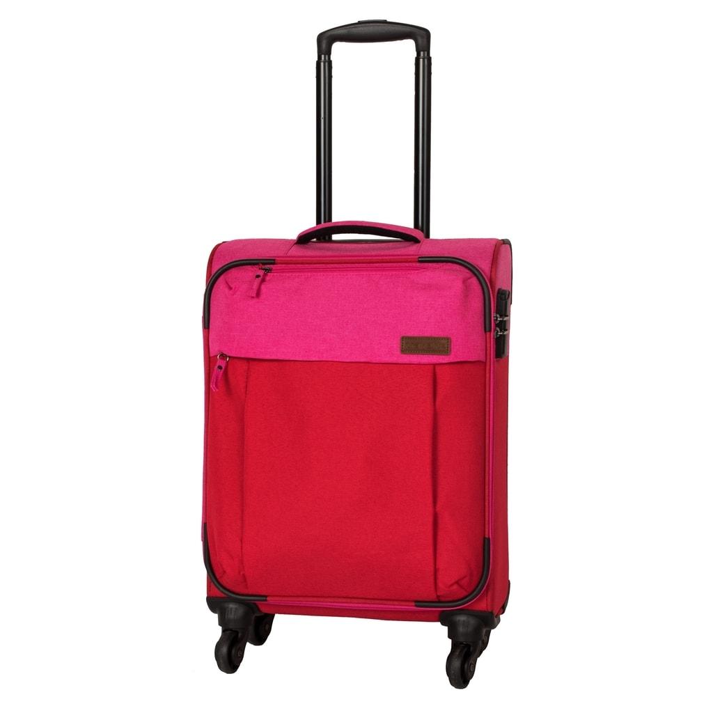 Travelite Kabinový cestovní kufr Neopak 32 l P38369 růžová, červená