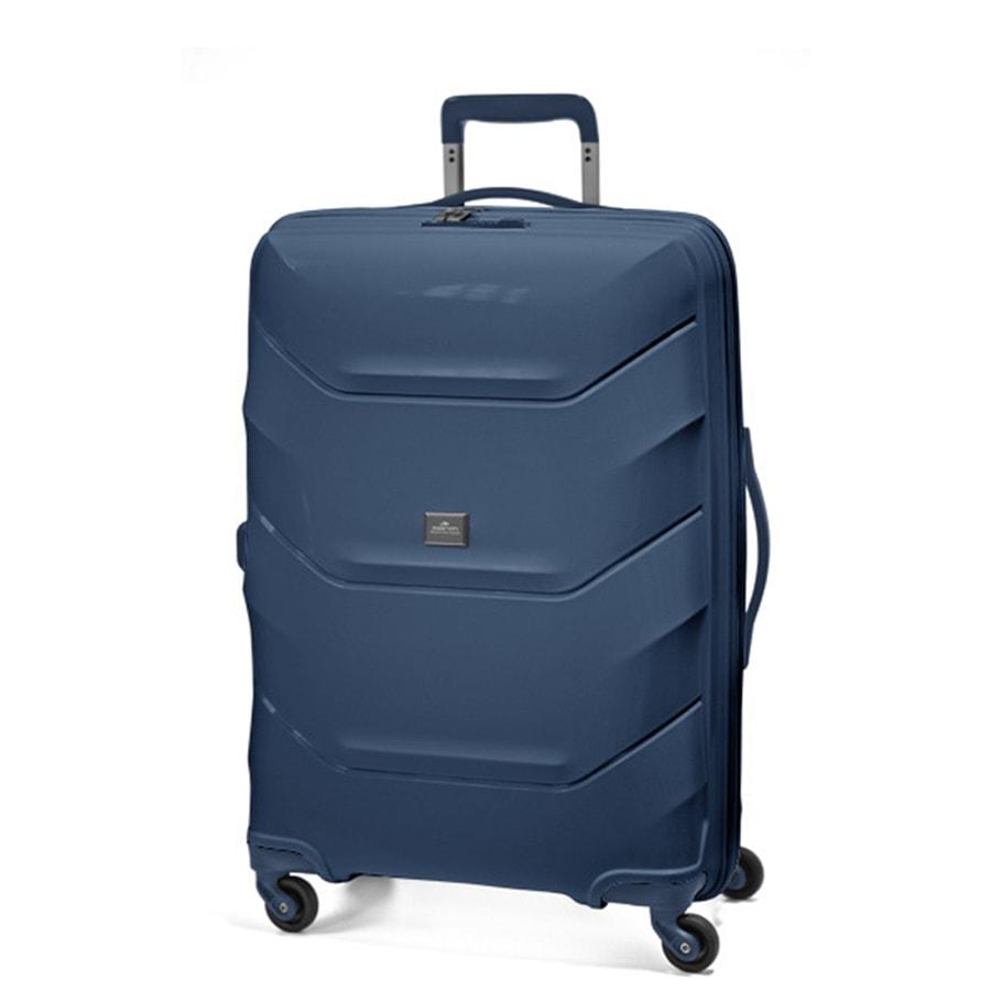 March Střední cestovní kufr Vienna 77 l - modrá