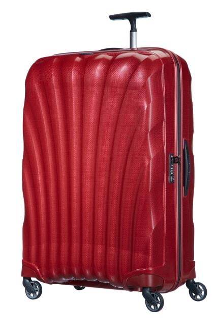 Samsonite Cestovní kufr Cosmolite Spinner V22 123 l - červená