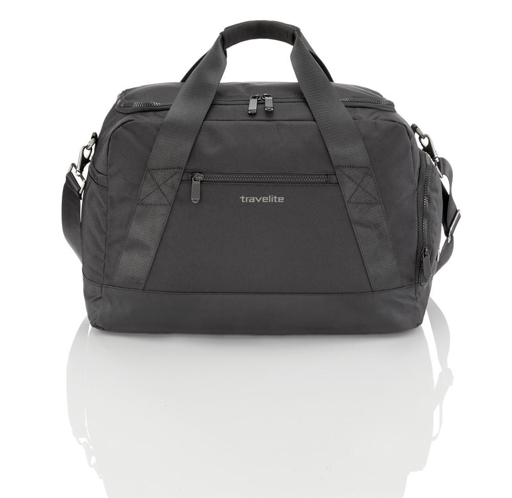 Travelite Sportovní taška Flow M Black 6774-01 38 l