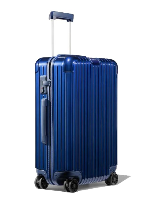 Rimowa Cestovní kufr Essential Check-In M 60 l - lesklá modrá