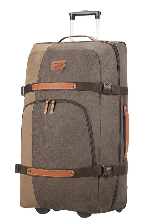Samsonite Velká cestovní taška na kolečkách Rewind Natural 113 l - šedá