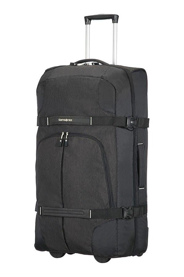 Samsonite Velká cestovní taška na kolečkách Rewind 113 l - černá