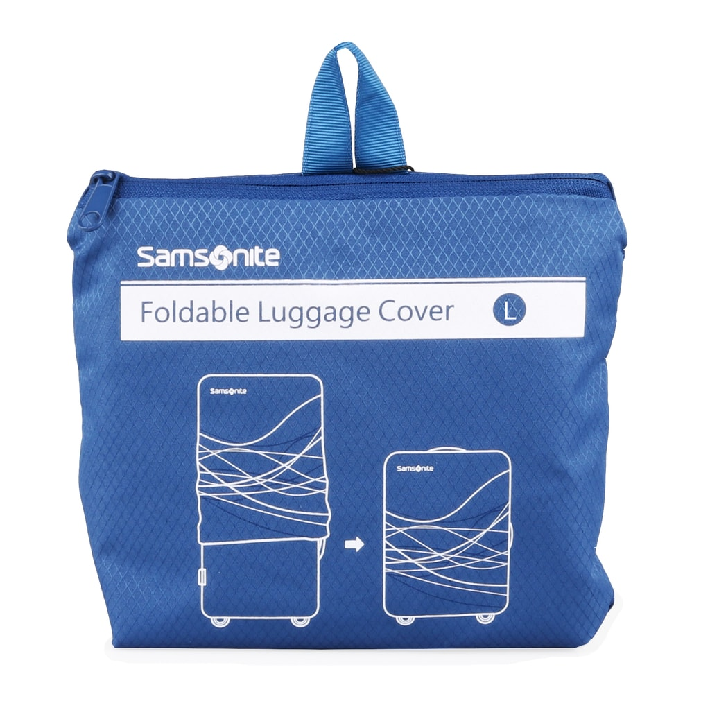 Samsonite Ochranný obal na kufr U23 vel. L, modrá