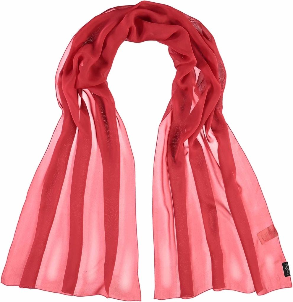 39fa5f2b543 Elegantní lehký šátek z hedvábí od značky Fraas. Šátek není pruhovaný