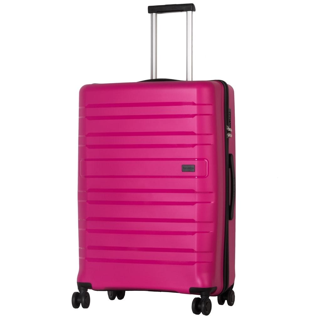 Travelite Cestovní kufr Kosmos 4w L Pink 102 l