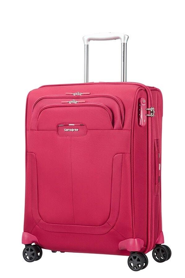 Samsonite Kabinový cestovní kufr Duosphere 40,5/48,5 l - růžová