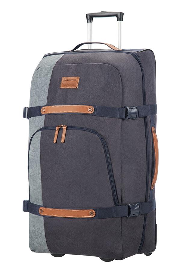 Samsonite Velká cestovní taška na kolečkách Rewind Natural 113 l - modrá