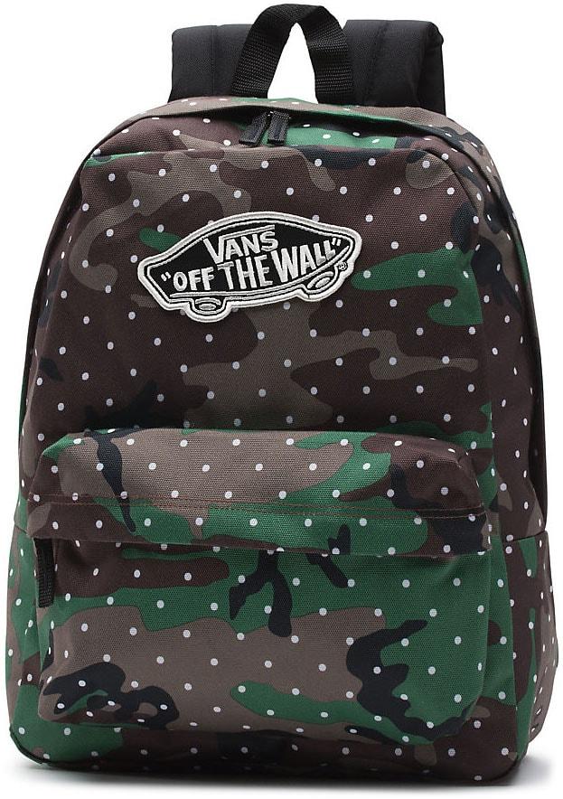 VANS Městský batoh W Realm Backpack Camo Dot 22 l