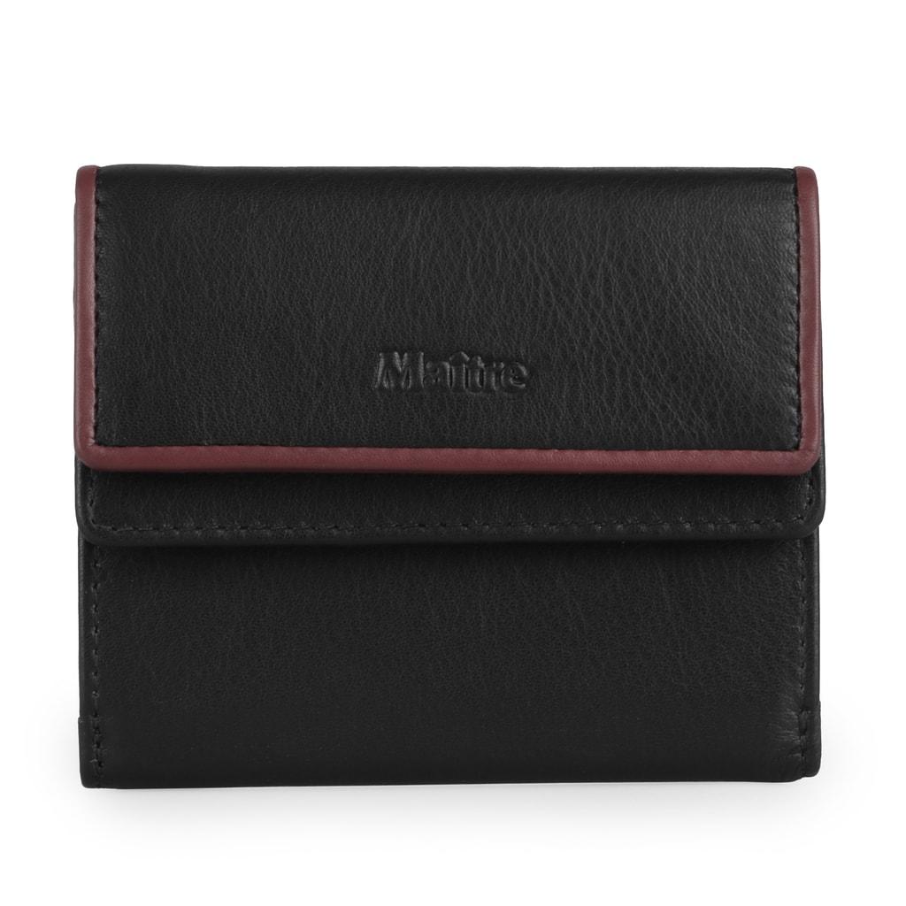 Maitre Dámská kožená peněženka Deda 4060001035 - černá