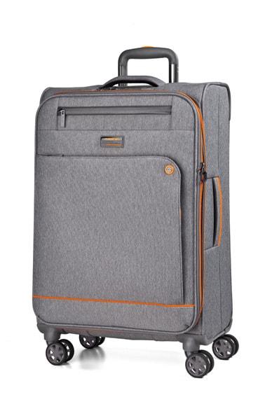 March Kabinový cestovní kufr Shorttrack 37 l - šedá