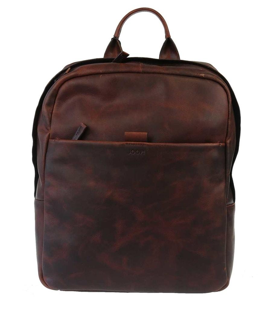 JOOP! Kožený batoh Bonola JOOP!, hnědý