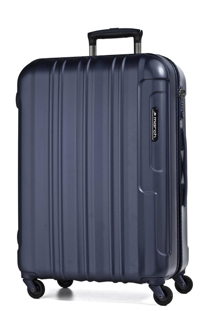 March Cestovní kufr Cosmopolitan 69 l - tmavě modrá