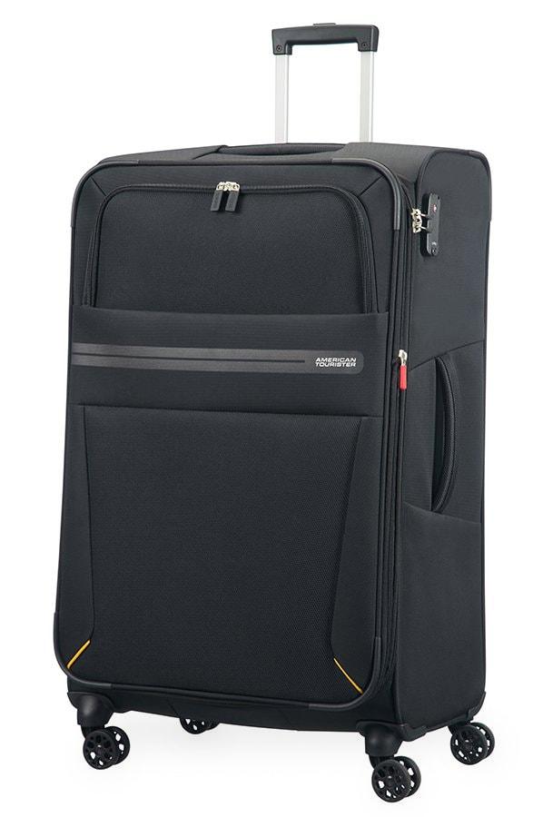 American Tourister Cestovní kufr Summer Voyager Spinner EXP 29G 112/123 l - černá