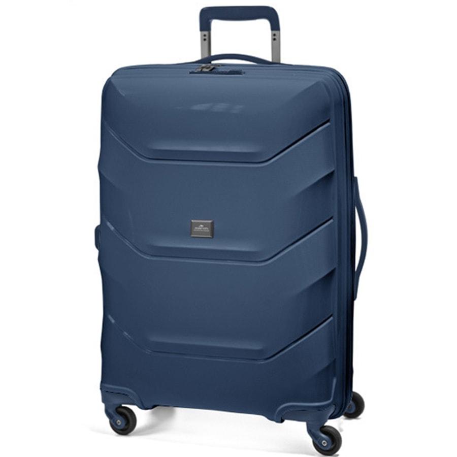 March Velký cestovní kufr Vienna 113 l - modrá