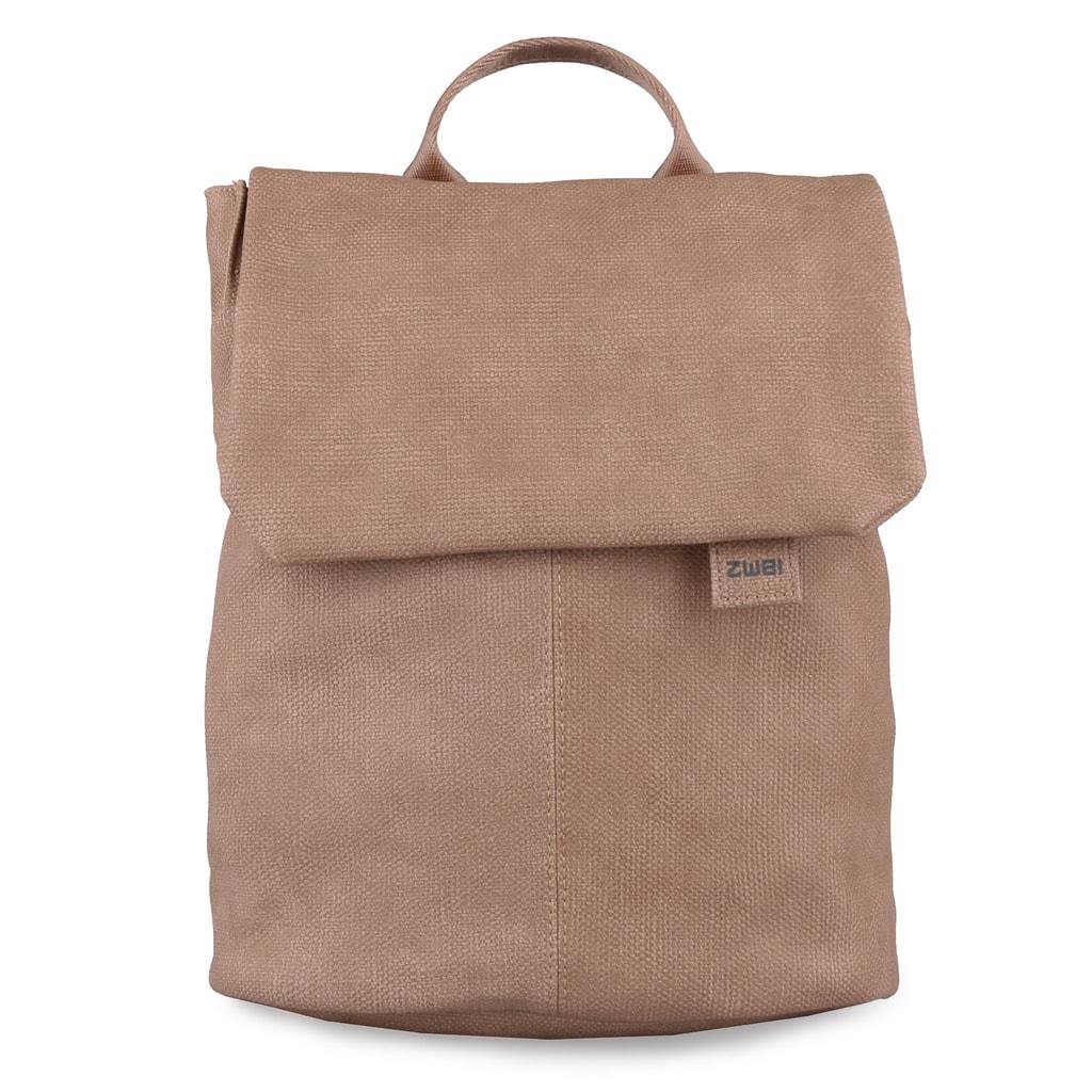 Zwei Dámský batoh Mademoiselle MR13 - světle hnědý