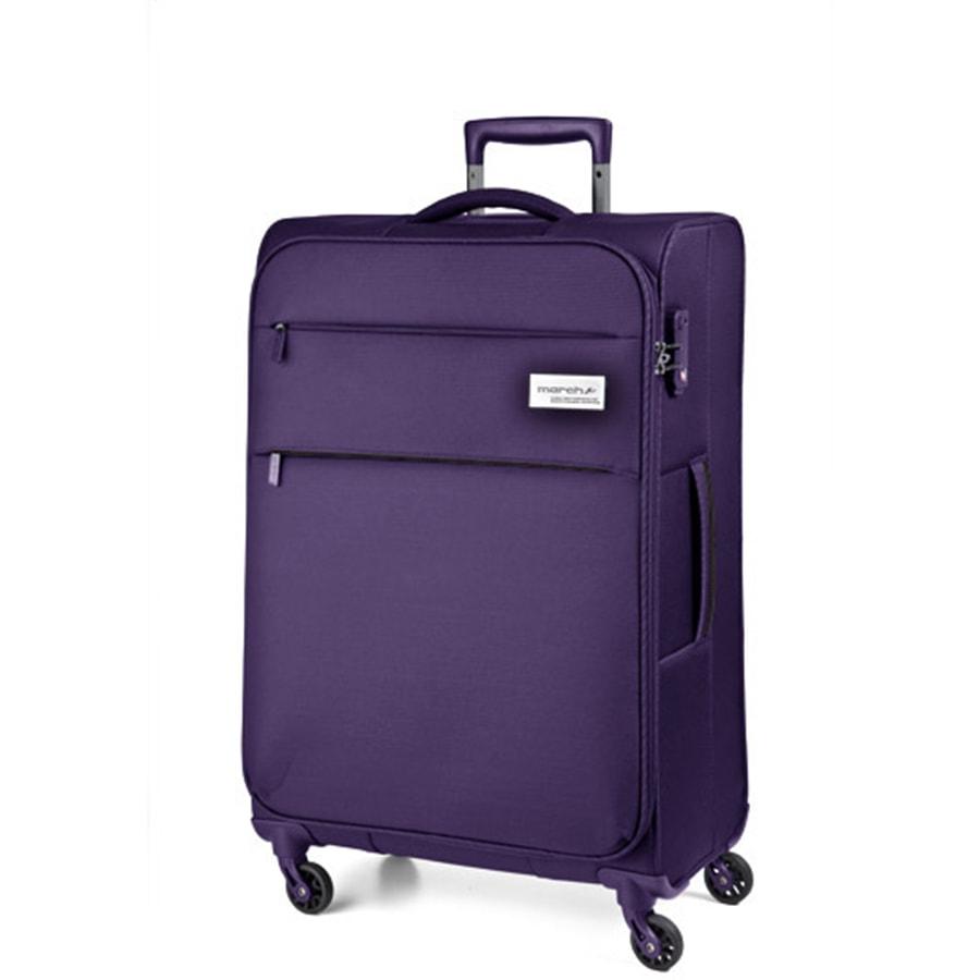 March Střední cestovní kufr Polo 79,0l - fialová