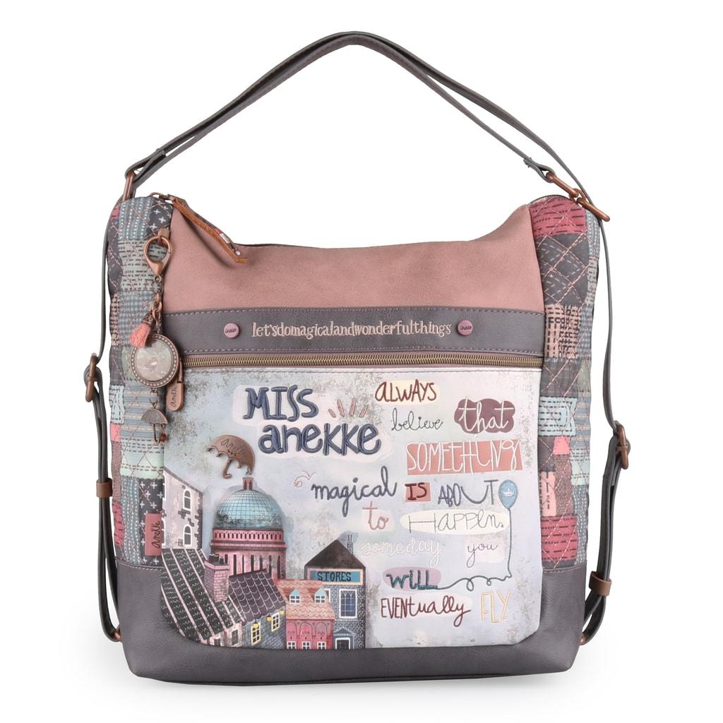 Anekke Dámská kabelka přes rameno/batoh Miss Anekke 27845-03