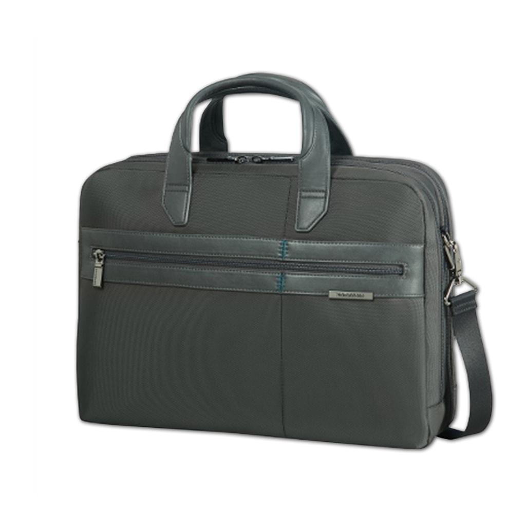 """Samsonite Pánská taška na notebook 15,6"""" Formalite 62N-005 - šedá 62N-005-08"""
