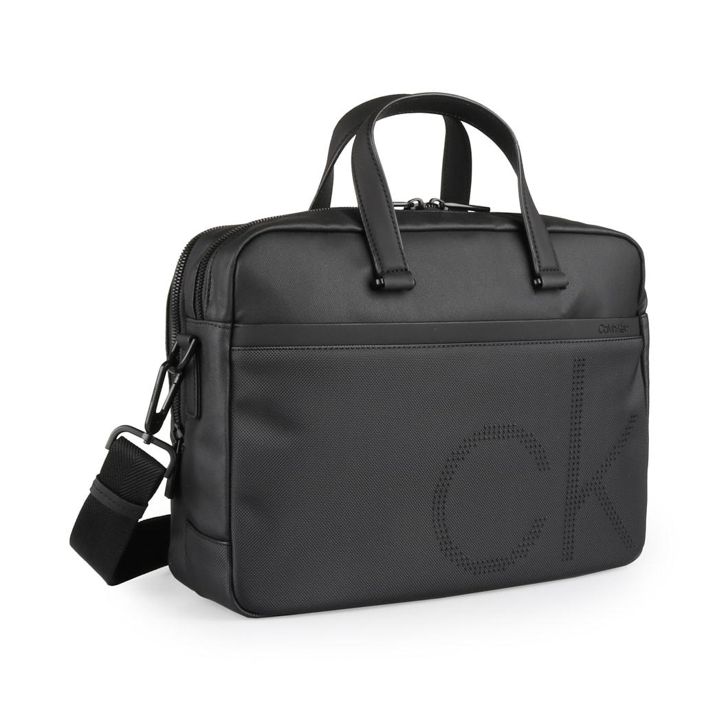 Calvin Klein Pánská taška na notebook CK Point K50K503876 - černá