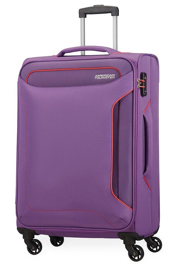 American Tourister Cestovní kufr Holiday Heat Spinner 50G 66 l - fialová